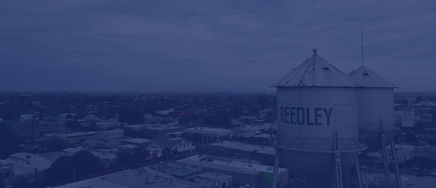 view of city of reedley